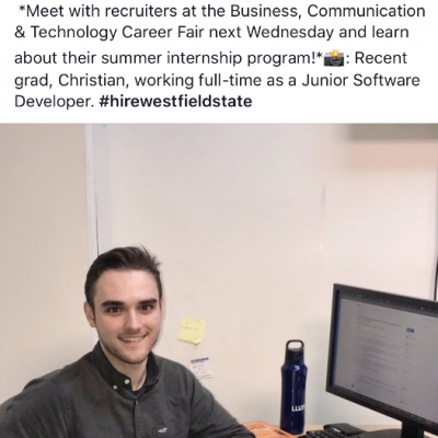 Our college interns tend to enjoy the LLumin vibe. Christian is now a Full Time Software Developer